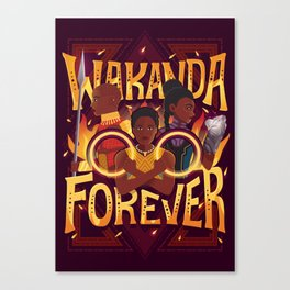 Women of Wakanda Canvas Print