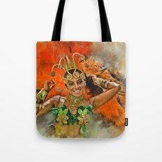 Carnival Queen Tote Bag