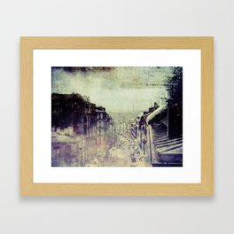 A moveable feast Framed Art Print
