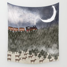 over the hills and far away Wall Tapestry