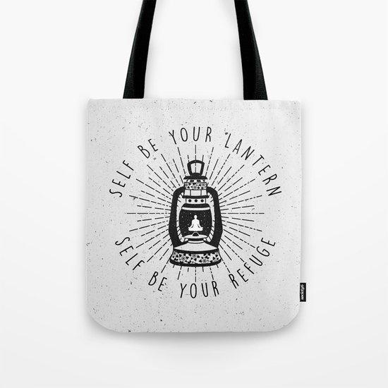 Self Be Your Lantern Tote Bag