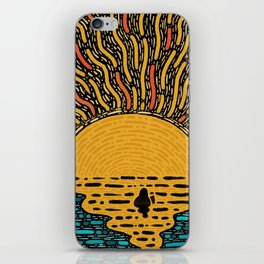 Warm Water iPhone Skin