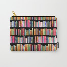 Christmas Antique Book Library for Bibliophile.bookworm, book lover, library, teachers , students, Carry-All Pouch