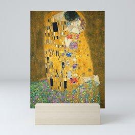 The Kiss, Fine Art Print, Gustav Klimt, Wedding Love Romance Gift Mini Art Print
