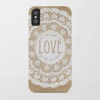 all you need is love iPhone & iPod Cases featuring All You Need is Love by Jenndalyn