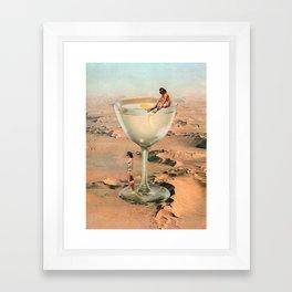 Dry Martini Framed Art Print