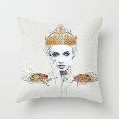 The Queen #1 Throw Pillow