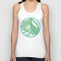 fern Tank Tops featuring Fern by Allison Holdridge
