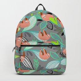 Bright jungle sloths Backpack