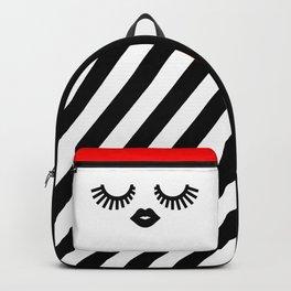 Eyelashes Backpack