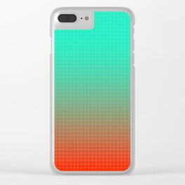 Heating Up In Miami Clear iPhone Case