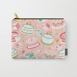Retro Birthday Cakes Carry-All Pouch