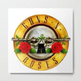 New Guns n roses Metal Print