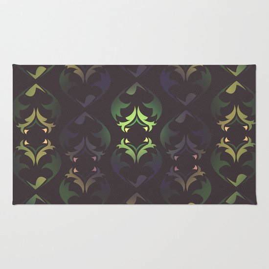 Heart Forest Rug