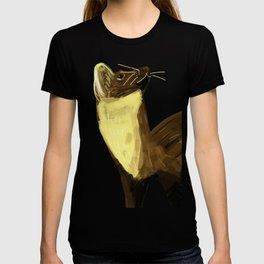 Fluffy Marten ( Martes martes ) T-shirt