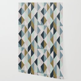 Triangle Pattern IV Wallpaper