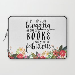 Blogging About Books Laptop Sleeve