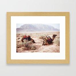 Wadi Rum, Jordan Framed Art Print