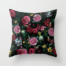 Botanical Garden IX Throw Pillow