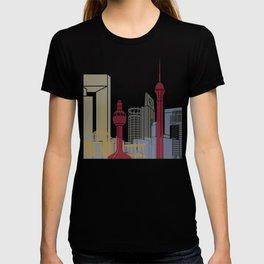 Jeddah skyline poster T-shirt