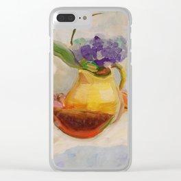 Kitchen Bouquet Clear iPhone Case