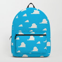 Country Western Clouds on Sky Backpack