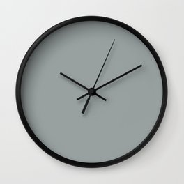 Origami Geo Tile // Stone gray // Mix and match Wall Clock