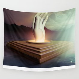 REACH FOR THE SKY - ∀ Wall Tapestry