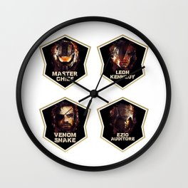 Gaming Legends [4 in 1 set] #1 Wall Clock