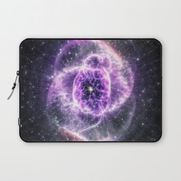 Collapsed Galaxy Eye Laptop Sleeve