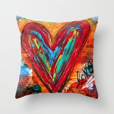 Love's Many Colours Throw Pillow