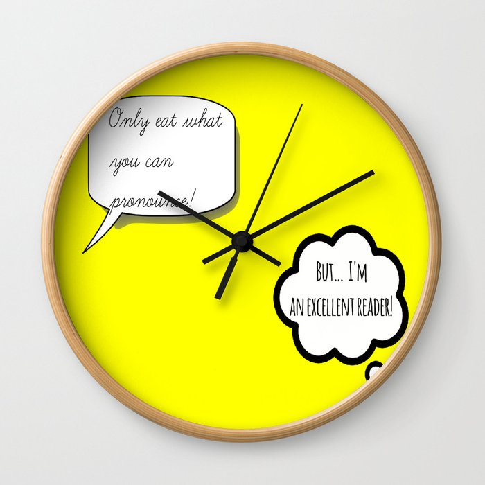 What if I'm an Excellent Reader? Wall Clock
