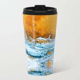 FALLING MOON OCEAN SCI-FI ILLUSION Travel Mug