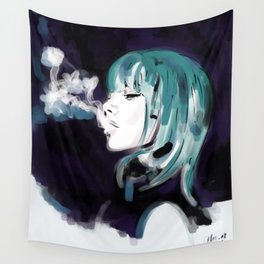 Smoking Colors. Wall Tapestry
