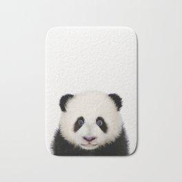 Baby Panda, Baby Animals Art Print By Synplus Bath Mat