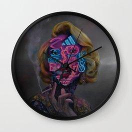 Brandalism Wall Clock