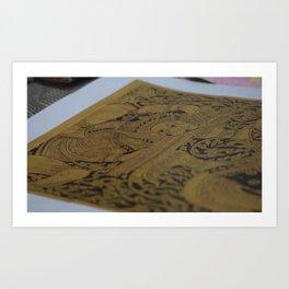 Thai art Art Print
