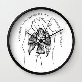 Talking Bird // DCFC Wall Clock