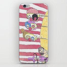 Deceased Clown Heads iPhone Skin