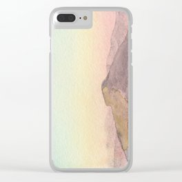 Drenched Clear iPhone Case