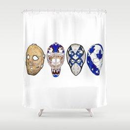 Historic Toronto Masks Shower Curtain