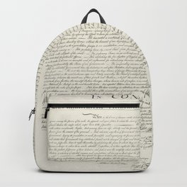 United States Declaration of Independence Backpack