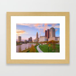 Columbus 01 - USA Framed Art Print