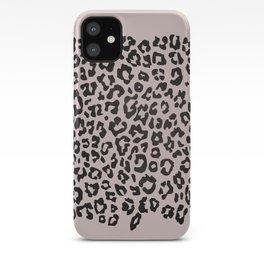 minimalist animal print iPhone Case