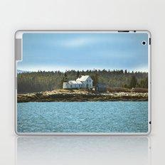 Lighthouse Island - Maine Laptop & iPad Skin