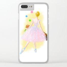 Wondrous Fair Clear iPhone Case