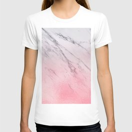 Cotton candy marble T-shirt