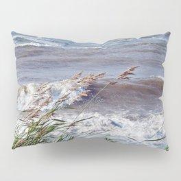 Waves Rolling up the Beach Pillow Sham