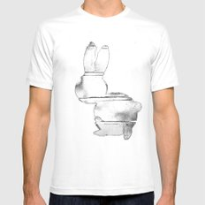B-Bunny Mens Fitted Tee White MEDIUM
