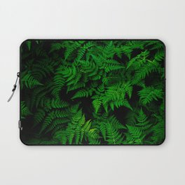 Deep Forest Ferns Laptop Sleeve